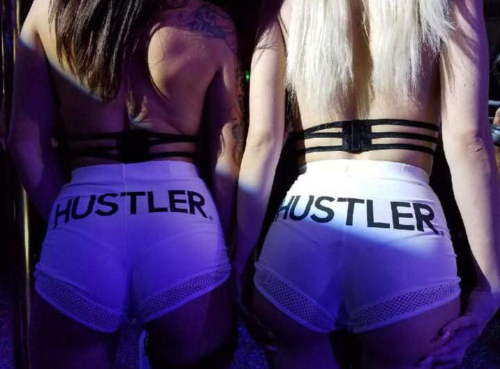 Hustler dancers