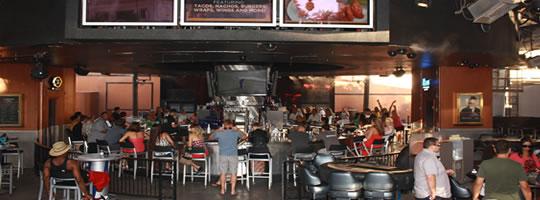 Carnaval Court Vegas bar Harrahs