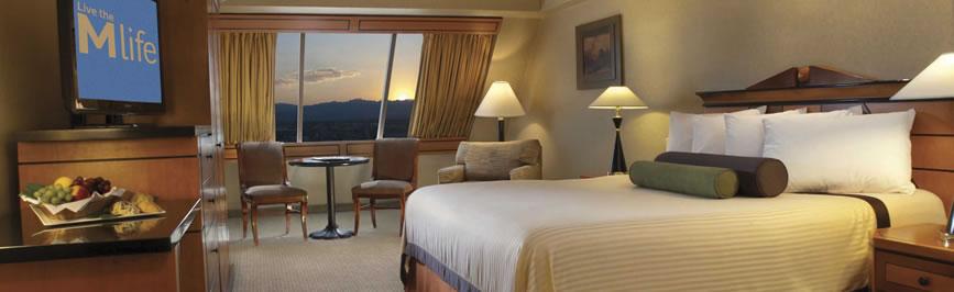 Luxor Hotel Room