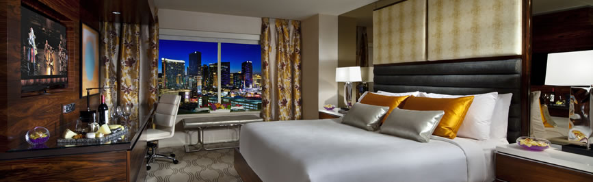 MGM Terrace Suite Bedroom