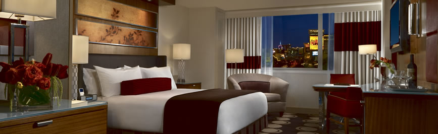 Mirage Hotel Room
