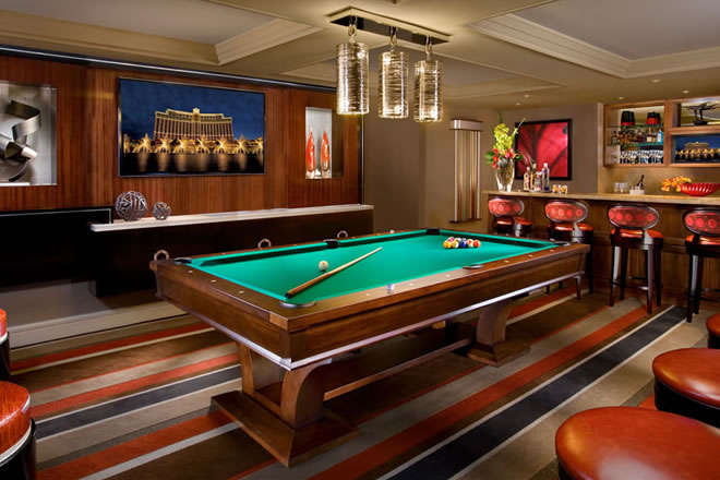 Bellagio Pool Table Suite