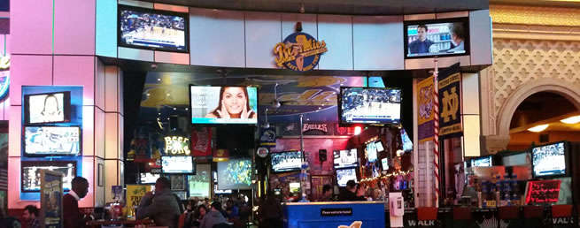 Watching March Madness in Las Vegas
