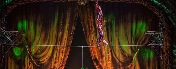 cirque du soleil performance at Zarkana
