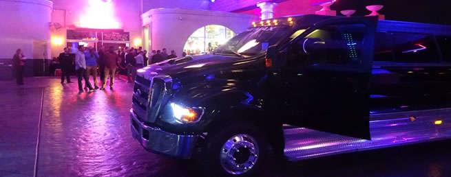 Free limo at strip club