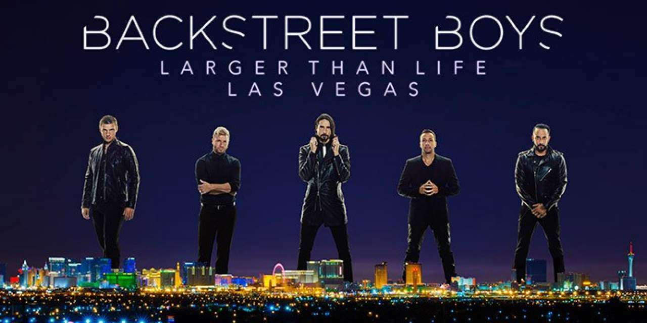 Backstreet Boys - Larger Than Life in Las Vegas