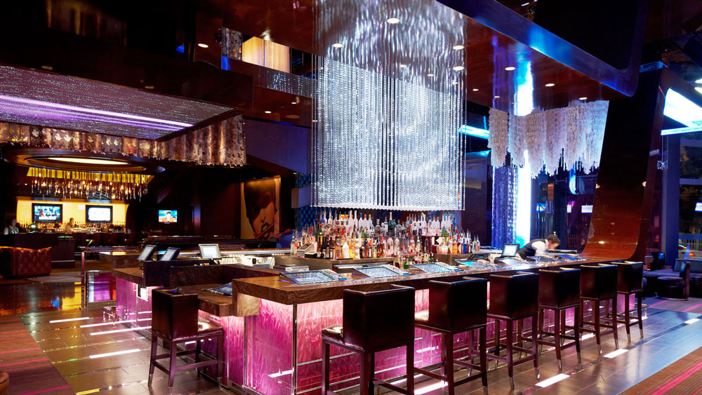 Bond lounge in Las Vegas